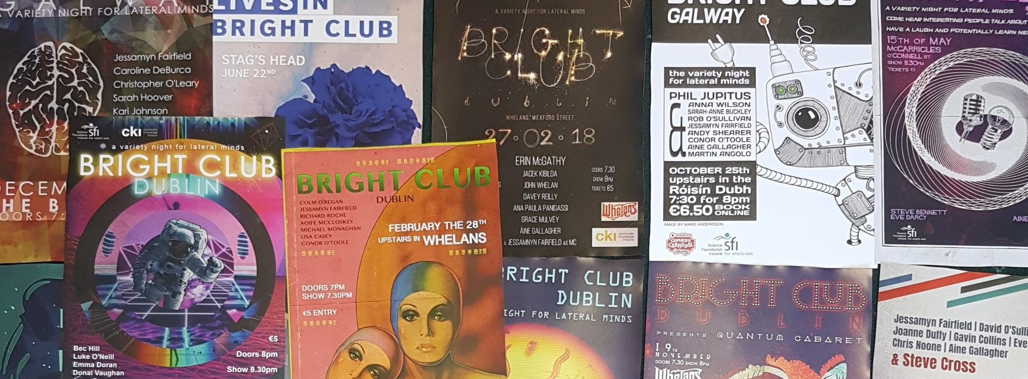Bright Club Open Call 2018!